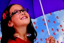 Pez Eyewear - Eye Candy / Stylish and classic eyewear for children in bright colored plastics, and super tough metals.