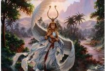 Goddesses-Deities / Goddesses and deities : archetypical figures, who represent hidden qualities in our self for us to discover and start living. / by Deva