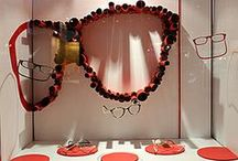 Bright Eyedeas - Valentines Day / Be still our heart. Visual merchandising ideas for the holiday. Embrace reds, pinks and more.