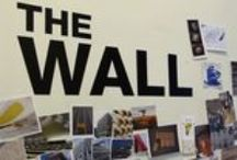 The Wall | Displayplan / This is our inspiration wall.