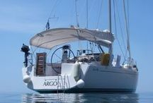 Sailing with ARGO a Hanse 400 in Greece / A photo logbook from our sailing trips with ARGO, out Hanse 400 in Greece.