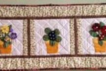 My handmade_patchwork / My creation.  Patchwork a iné tvorenie.