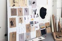 s t u d i o / home studio - workspaces - office - storage