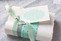 Gaver og kort / Kreative ideer til innpakning av gaver og fine kort