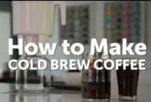 Cold Brew / Learn how to make your own cold brew, just in time for your next summer party.