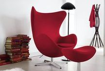 illy Red / Some of our favorite objects, designs, and spaces that stand out in our favorite color, red.