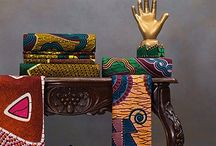 Vlisco fabrics and patterns / Dutch Textile Company