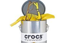 Style Your Crocs Eyewear / Crocs™ eyewear is known for its energetic, vibrant, colorful, expressive and active styles. Merchandising ideas for Crocs with these key attributes in mind.