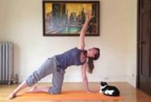 Practice Yoga with Me / A few quick videos to inspire your Yoga practice.