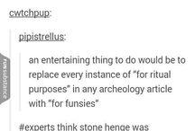 ~ Archeology ~