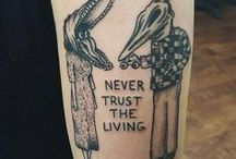 Tattoos / From realistic nature tattoos, to black dot-work.