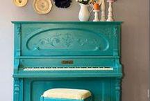 Reno'd furniture pieces