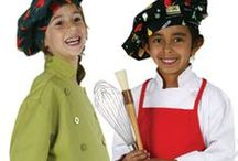 Fun for the Kids / Inspire your kids to be excited about cooking with our funky chef gear - made for the mini cooks!