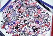 Doodle Arts Collection Volume 1 / Featuring the Contributing Artists from Doodle Arts Collection Volume 1 Issues 1 to 7 (June 2014 to December 2014).