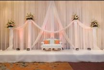 Peach, White, and Green Wedding by ACE / www.AmazinglyCreativeEvents.com Décor captured by RRI Pictures 1 Photography