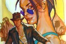 Indiana Jones & Lara Croft / by Olga Boreisha
