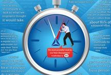 Life-hacks of Time Management / We would like to share with you small hints and life-hacks to make your essential time work on you everyday.