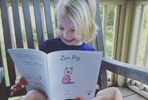 What Zen Pig is Up To / This is the official Pinterest home of the critically acclaimed children's book character Zen Pig.