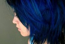 Blue Hair, Don't Care / Hairstyles and Colors