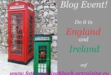 Do it in England and Ireland / Tu es in England und Irland oder Do it in England and Ireland! Über zahlreiche Tipps und Informationen von Euch würde ich mich riesig freuen! Ich fände ich es  auch toll, wenn ihr ein paar Bilder einbindet, ist aber kein muss.
