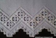 VYŠÍVÁNÍ hardanger (Embroidery Hardanger)