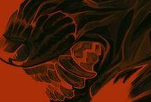 OC - Cahan / OC / Postapo ; Fighter / Fantasy ; Werewolf / Female