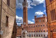 Siena Toskana, Tuscany / Sehenswertes in der Provinz Siena, Toskana, Italien