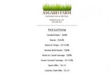 Pastured, organically fed Pork / by Asgard Farm
