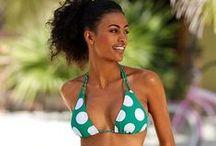 Beach Trend: Polka Dots / Punkte, Punkte, Punkte und noch mehr Punkte! Wir sind totally amused und freuen uns euch die schönsten Bikinis und Badeanzüge zu präsentieren