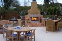 Outdoor Kitchens We Love / Outdoor kitchen to inspire you. Showcasing many of our products like EVO grills, EvenGlo premium heaters, Ronda fine Italian outdoor kitchen components and more.