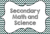 Secondary Math and Science / This board is dedicated to middle and high school educational ideas and resources for mathematics and science.  Updated guidelines for collaborators: Please pin at least 2 ideas/blog pins for every 1 product pin.  No product covers please.