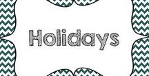 Holidays / Holiday-related resources and ideas for all grade levels and subjects