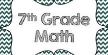 7th Grade Math / Resources for the seventh grade math classroom