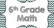 6th Grade Math / Resources for the sixth grade math classroom