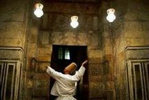 "Sufi / ""After despair, many hopes flourish just as after darkness, thousands of suns open and start to shine."" —Rumi ..*"