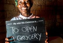 My Wish For Christmas / Deki.org.uk Christmas Campaign - we asked our developing world entrepreneurs what they wished for this Christmas. You can help change their life with a loan on Deki.org.uk