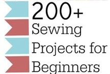 Sewing Project Round Ups / Sewing Project Round Ups for all sorts of easy sewing projects