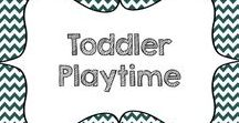 Toddler Playtime / This board has a collection of activities for toddlers that involve lots of learning and fun.