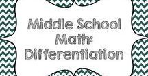Middle School Math: Differentiation