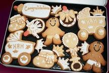 Baby cookies / Find our whole range of fantastic handcrafted cookies at www.customcookieco.co.uk
