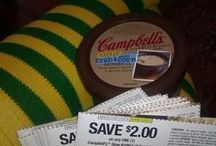 """Slow Down And Savor / Smiley members on the Campbell's Slow Kettle Style Soup mission received a Campbell's Slow Kettle Style Soup of their choice, 10 coupons to share for $2.00 off and 1 pair of comfy and fun socks to share a """"Slow Down And Savor"""" moment. Here are those moments!"""