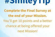 Smiley Tips / Tips for making the most of your Smiley membership.