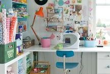 Sewing & Craft Room - Inspiration, Tips & Storage / Sewing & Craft room organisation plus inspiration
