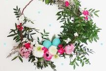 Wreaths - Floral, Pom Poms & Living