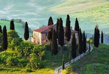 La mia casa da sogno in Umbria / Inspiration for a rustic farmhouse in the hills of Umbria