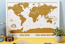 SCRATCH MAP® POSTERS / It's what we are best known for! We came up with the Scratch Map concept back in 2010 and it's been adding fuel to people's adventure and wanderlust filled dreams ever since!