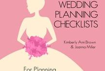 Wedding Planning Checklists / When planning a wedding, you need all the help you can get! On this board we have every good quality checklist we can find. http://www.checklistables.com/tag/wedding/ #Checklist #Wedding #Planning