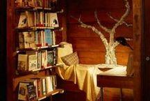 Lesekroker -reading nooks / Koselige lesekroker som inspirerer Inspiring reading nooks