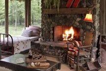 Lodge, Log, and Stone / by Darlene Myers