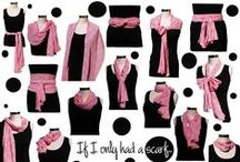 Scarves how to fold, tie and wrap